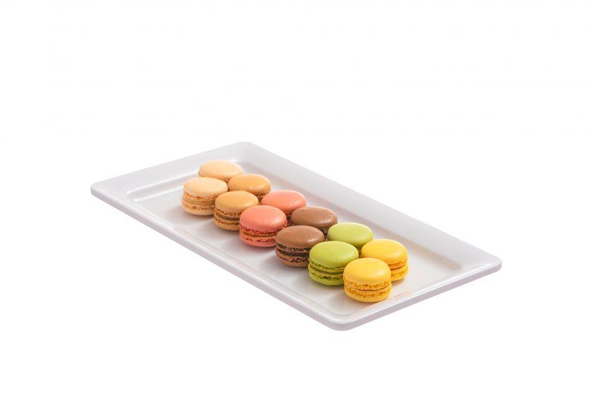 Macarons - keksit ja pikkuleivät