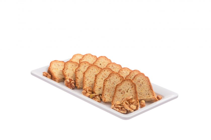 Pähkinäkakku - piirakat ja kuivakakut